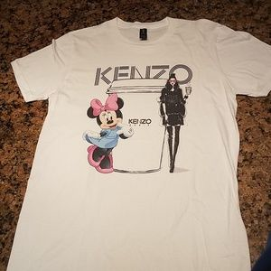 Kenzo paris tee with minnie mouse